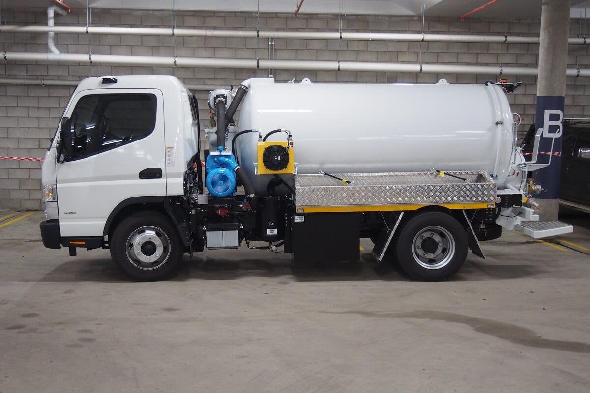 compact vacuum truck