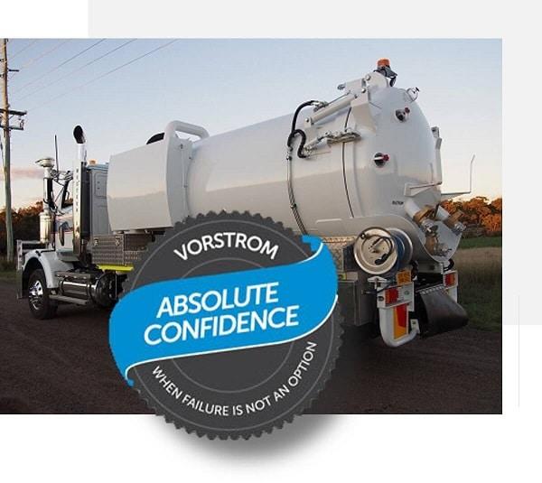 vorstrom vacuum truck seal